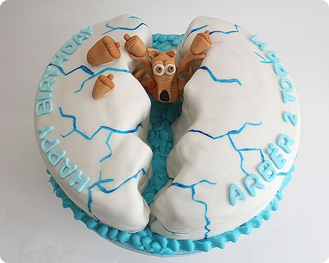 this one is so funny :-) Ice Age Cake
