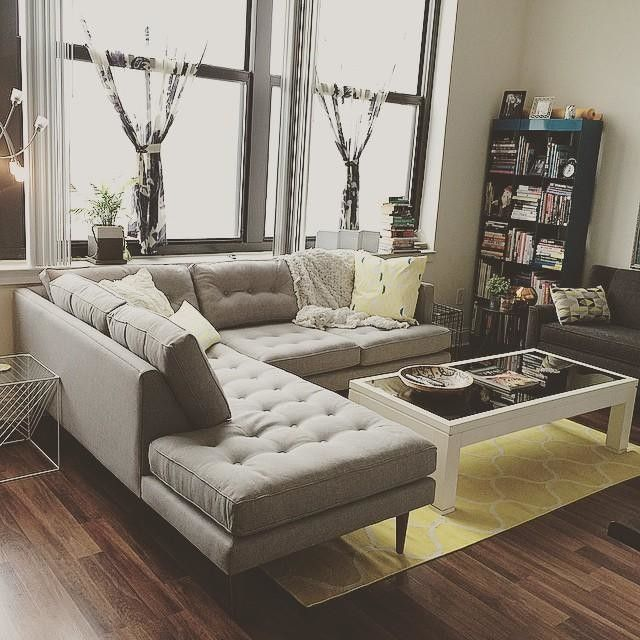 Peggy Mid-Century Terminal Chaise at West Elm