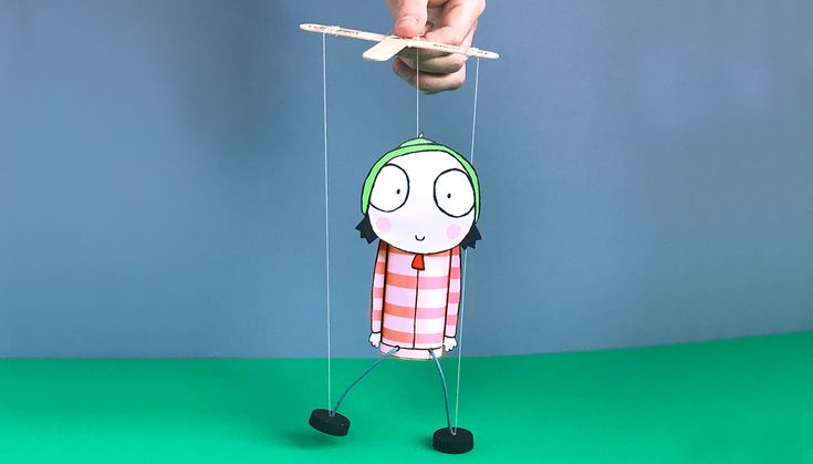 Sarah Marionette Puppet – Sarah and Duck