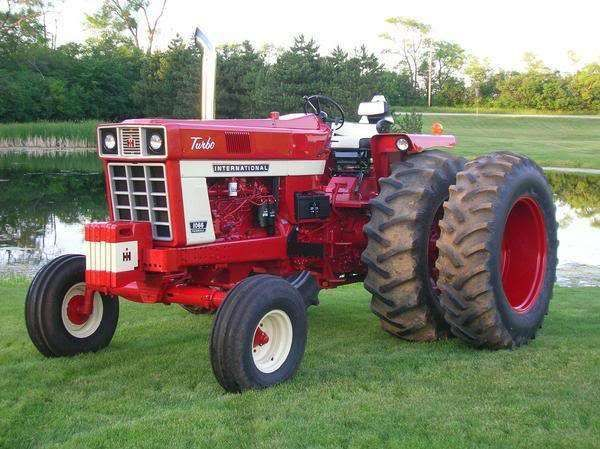 1066 International Tractor | 1066IH has posted a new photo. Subject: 1066 IH. Description: 1066 IH