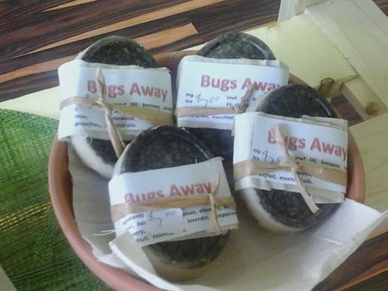 Bugs Away Bars by EV. Have a natural blend of herbs and essential oils to keep those nasty bugs away. Purchase them in store or online.