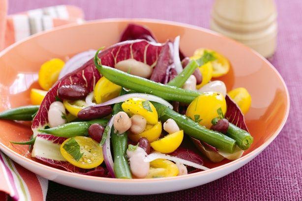 Warm bean salad - Taste.com