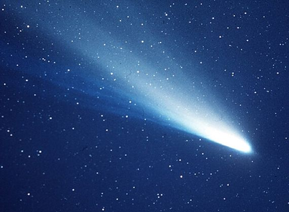 Annual Meteor Showers | FIRE IN THE SKY: Meteor Shower Of Halley's comet