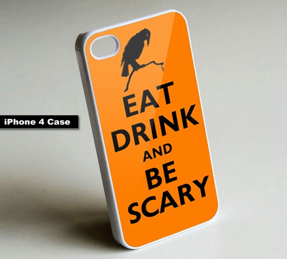 Keep Calm Eat Drink and Be Scary -