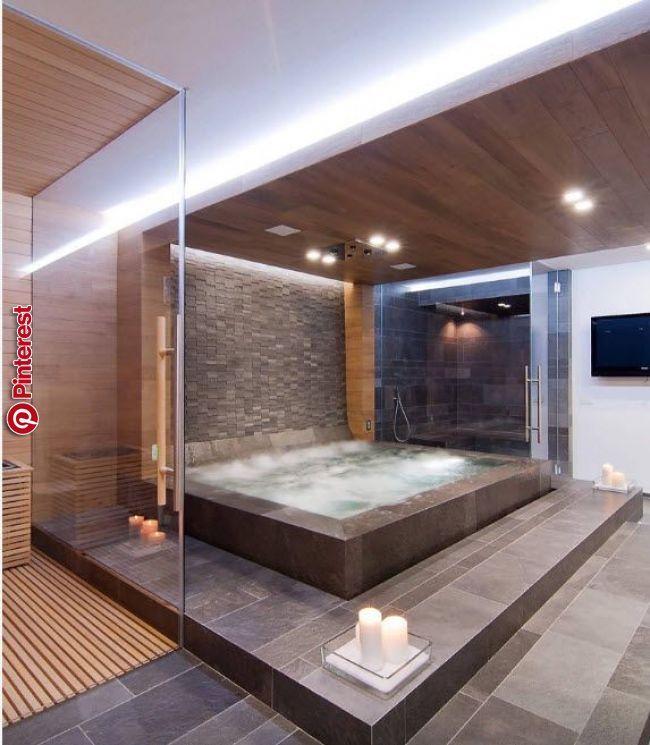 Jacuzzi Im Innenraum Bezahlbarer Luxus Traumbad Kleine Badezimmer Luxus Badezimmer
