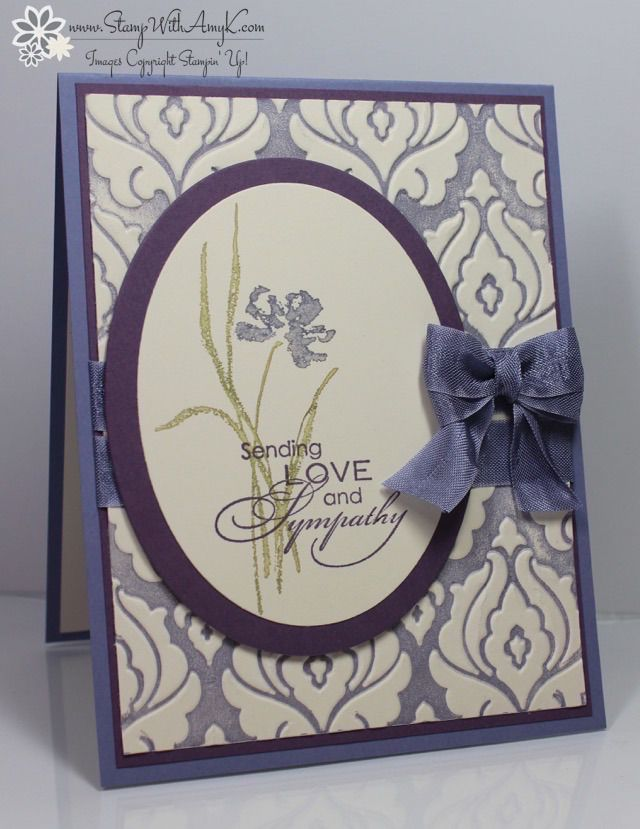 Card Making Ideas Sympathy Part - 48: Love U0026 Sympathy - Stamp With Amy K. Embossed CardsGreeting ...