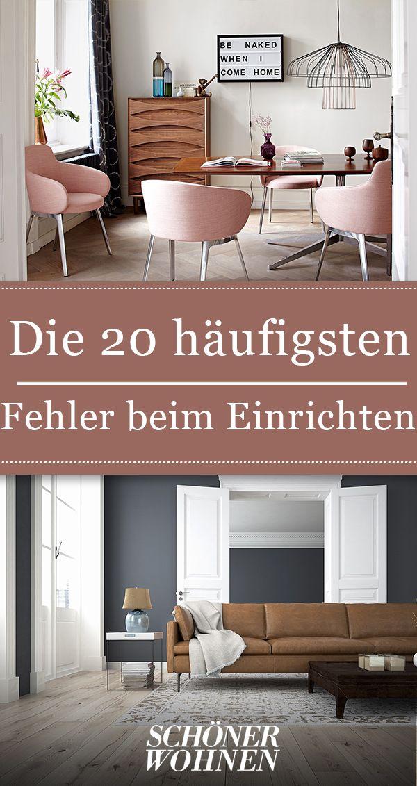 Die 20 Haufigsten Fehler Beim Einrichten Wohnung Einrichten Wohnung Einrichten Tipps Wohnen