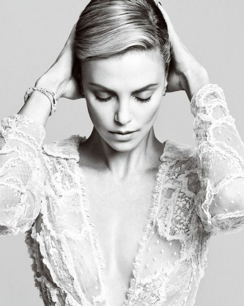 """dailyactress: """" Charlize Theron for Harper's Bazaar China October 2014 """""""