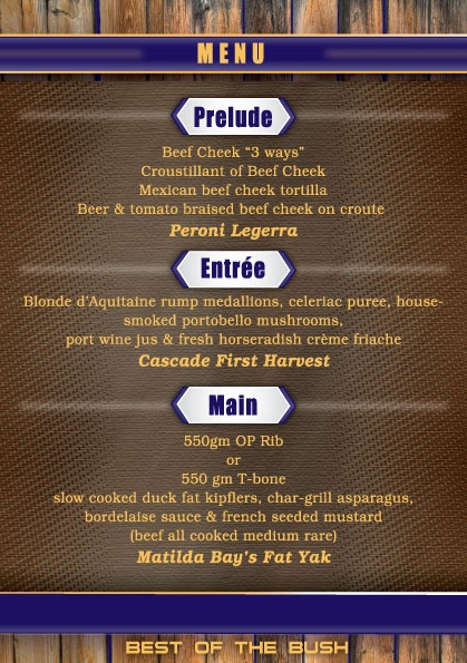 8 best Plough Inn Beef \ Beer Dinner Menu images on Pinterest - beer menu