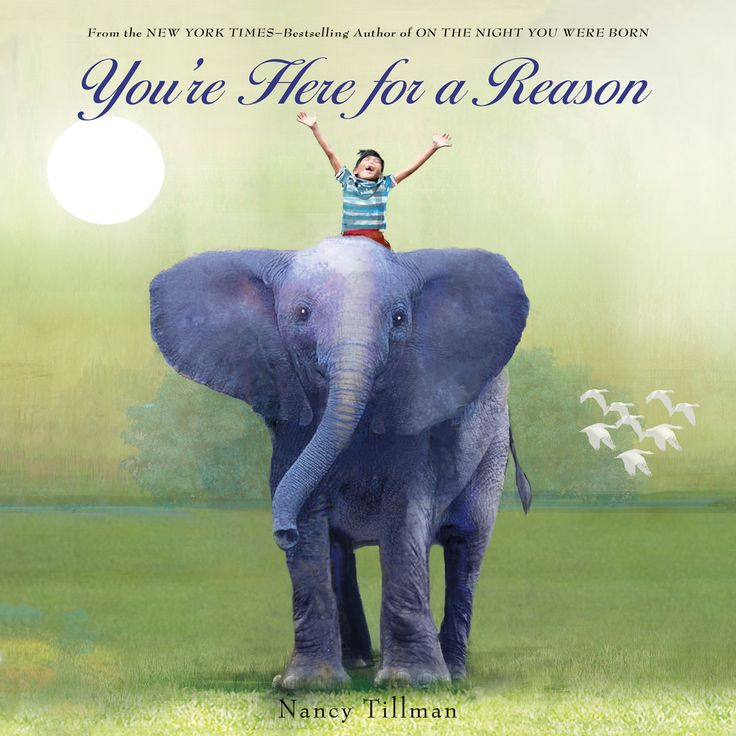 Best books for graduation gifts: You're Here for a Reason by Nancy Tillman