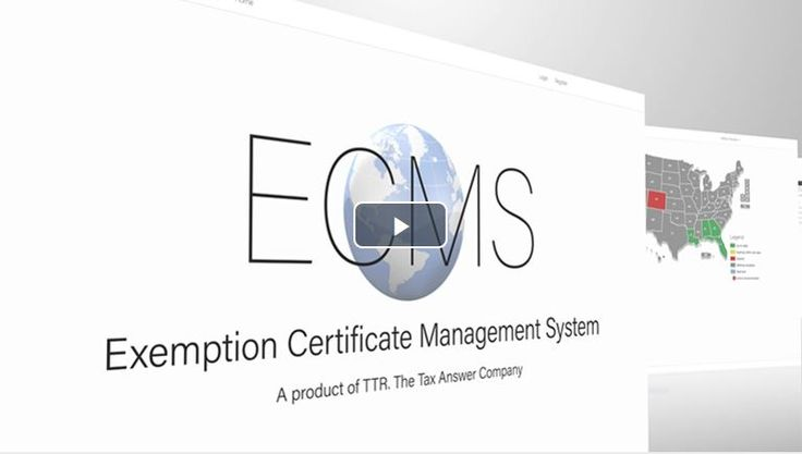 With TTR's new Exemption Certificate Management System, you can quickly upload, store, edit, verify, manage, request, export, and save exemption certificates all in one place.