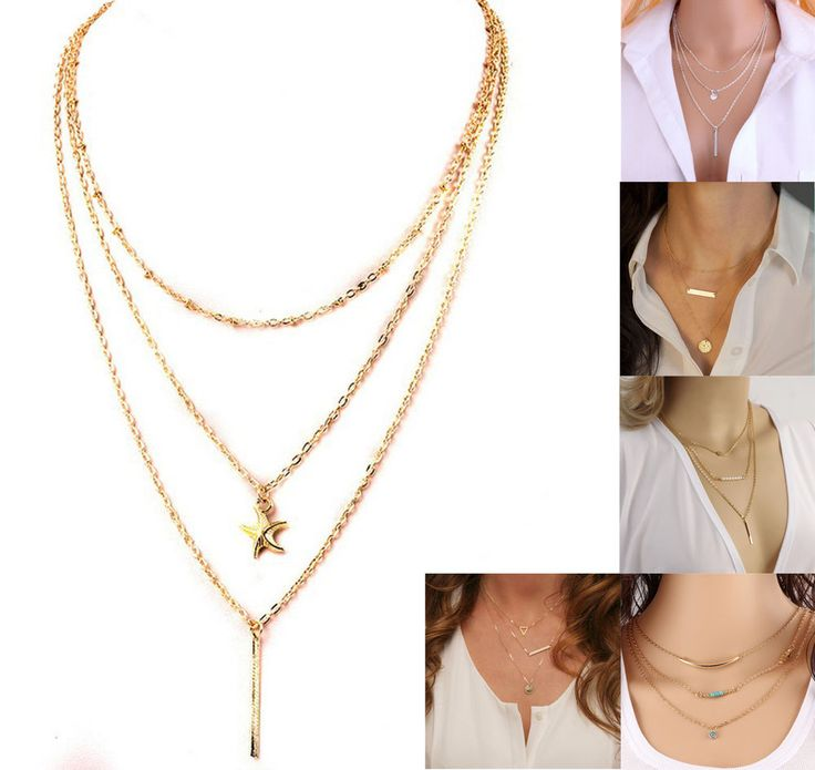 Modeschmuck gold kette  Top 25+ best Goldkette damen ideas on Pinterest | Goldringe damen ...