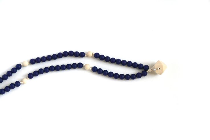Allure - free spirited, boho chic teething jewelry inspired by mala-style prayer necklaces.