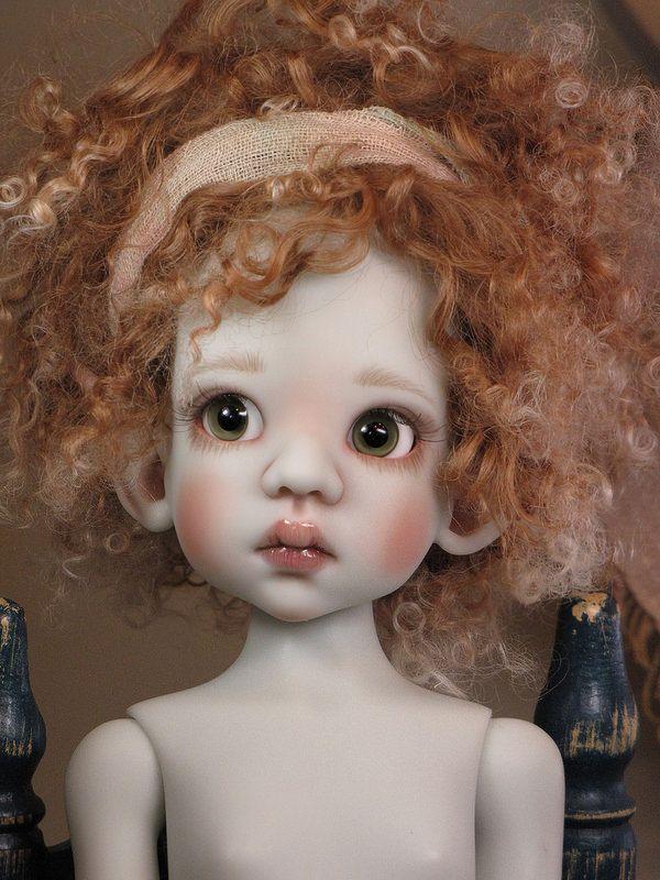 Art doll by Kaye Wiggs Gray Talyssa Elf