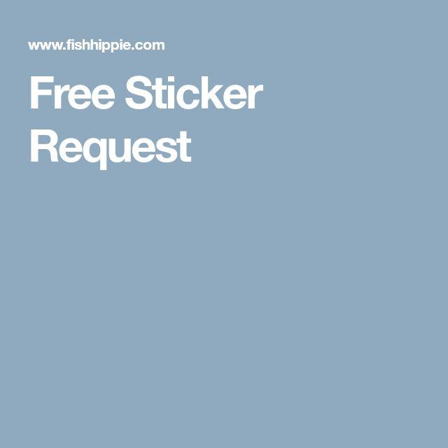 Free Sticker Request