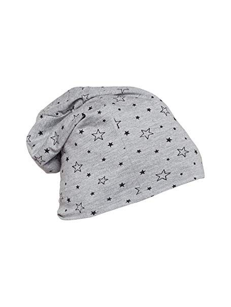 Vimal Grey Printed Cotton Blended Free Size Beanie Cap For Men ... 3e57cafe4261