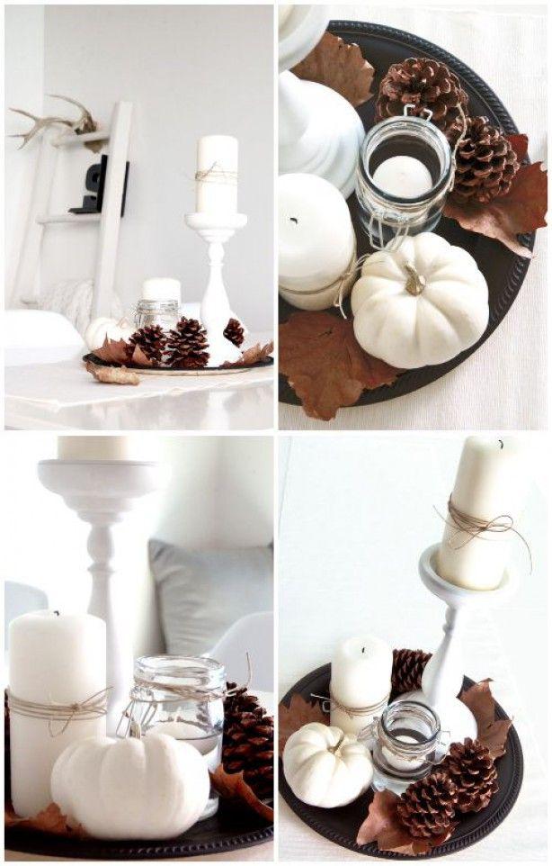Wonen & seizoenen | Herfst decoratie met pompoenen en kalebassen