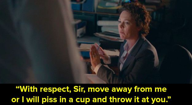Broadchurch can be gritty at the best of times. The light relief? The sassy as fuck dialogue. | 14 Times Olivia Colman And David Tennant Were Sassy As Hell