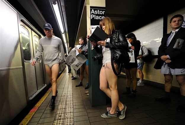 You've stopped feeling the need to wear pants around each other.