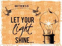 bible verses about light - Google Search