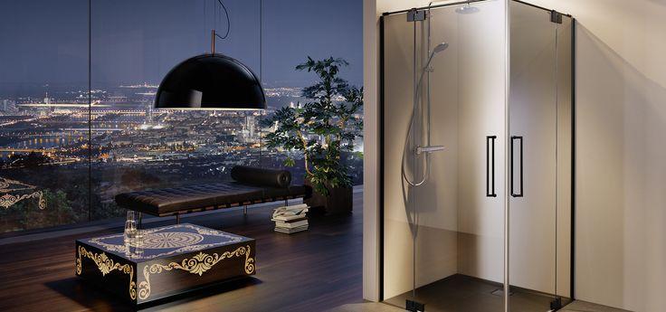 yli tuhat ideaa duschabtrennung pinterestiss dusche schiebet r duschabtrennung glas ja. Black Bedroom Furniture Sets. Home Design Ideas