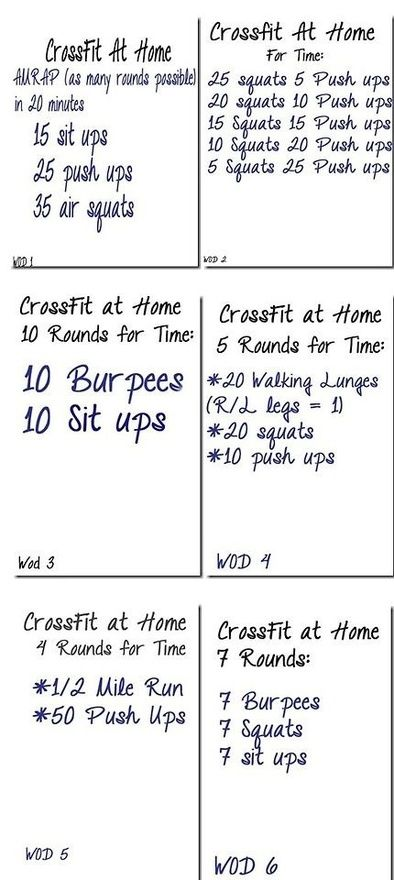 Not a crossfitter but still do these type of workouts . Love the options .