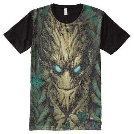 Guardians of the Galaxy | Groot Through Branches All-Over-Print Shirt - tap, personalize, buy right now!