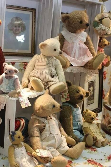 Ted's family picture;