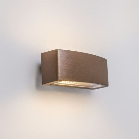 Wall Lamp Latina E27 Rust - LED wall lamps - LED Lighting - lampandlight.co.uk £42.50