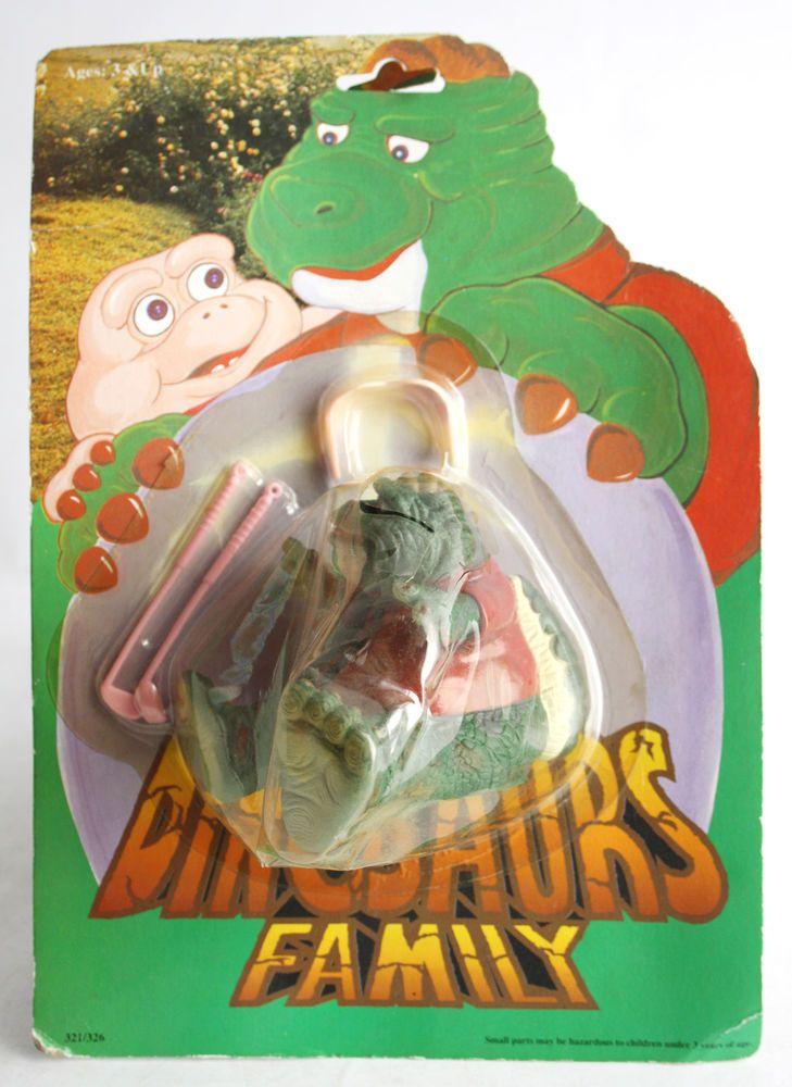 RARE Vintage 90's Dinosaurs Earl Sinclair Figure KO New SEALED MOSC   eBay