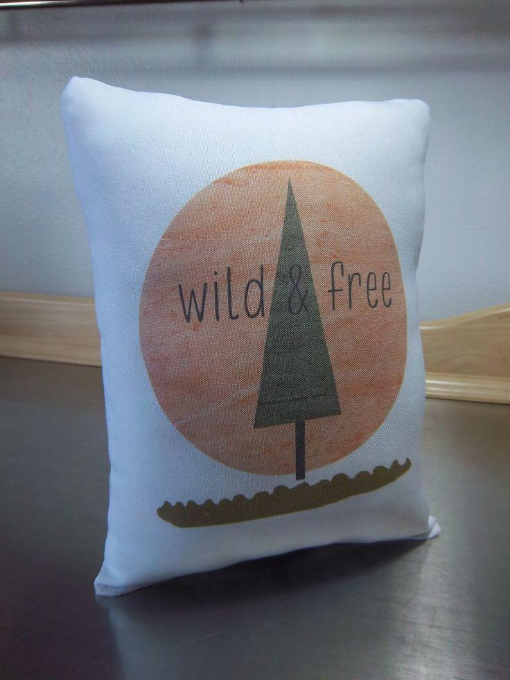 New baby gift pillow Scandinavian nursery decor poplin throw pillows cotton cushion