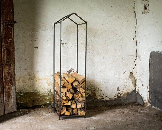 Контейнер для хранения дров от DesignAtelierArticle на Etsy