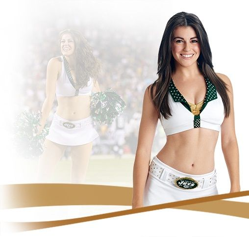 2016 New York Jets Cheerleader