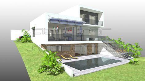 Plan Maison Architecte Maison Contemporaine A Porte A Faux Sur
