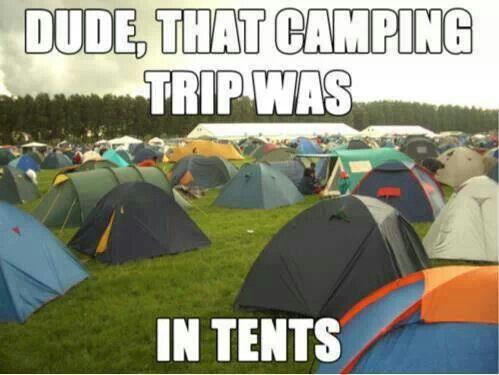 Camping puns. Oh my God...