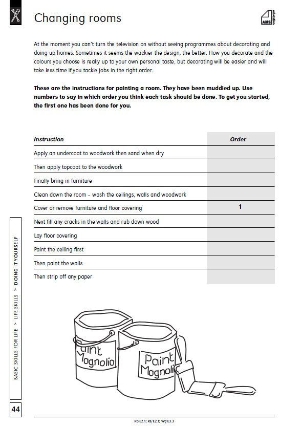 Printables Basic Living Skills Worksheets 1000 images about life skills on pinterest communication a selection of 7 worksheets from axis educations series the series
