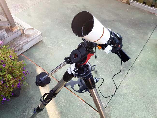 астрофотография зеркалкой через телескоп также