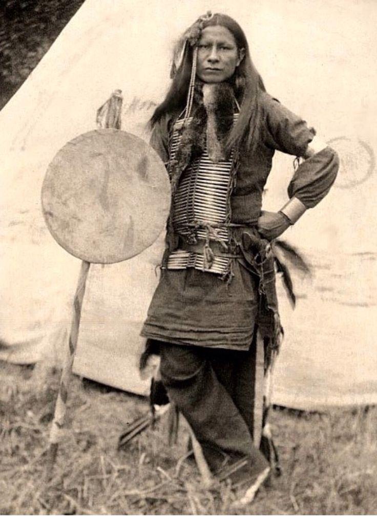 Little Finger. Sioux Indian.