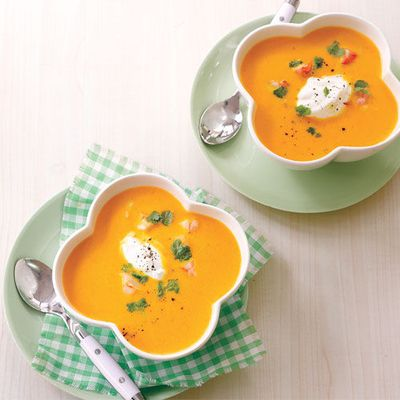 Refreshing #summer soup: Carrot Ginger Soup #recipe