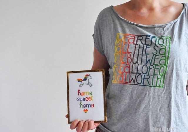Regebogen-Einhorn und all of equal worth  - Frau Jule