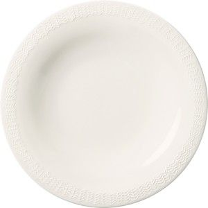 Sarjaton Lautanen Letti, 22 cm valkoinen,