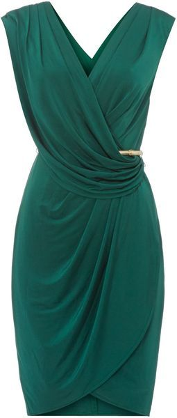 Untold Dress Wrap Over - Lyst