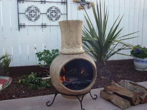 Outdoor Chiminea Home Depot ~ http://modtopiastudio.com/modern-chiminea-for-outdoor-decoration-with-or-without-grill/