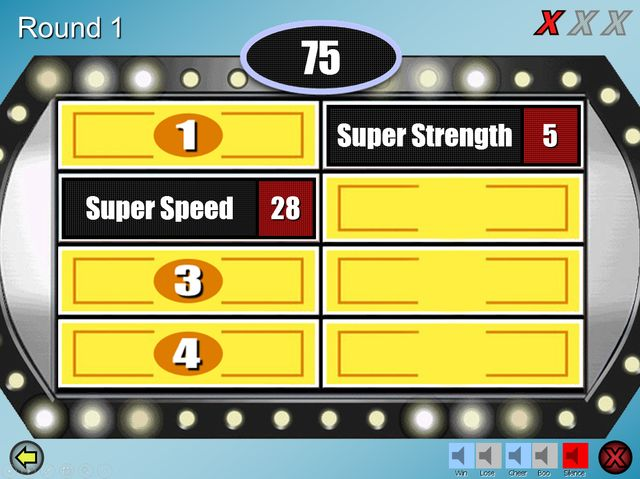 Family Feud PowerPoint Templates