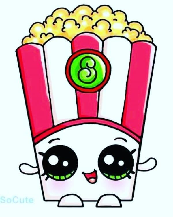 Popcorn kawaii. Kawaiicizimler kawaiigirl patlam m