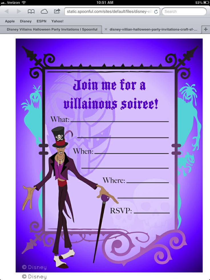 17 Best Images About Disney Villains Inspired Party On