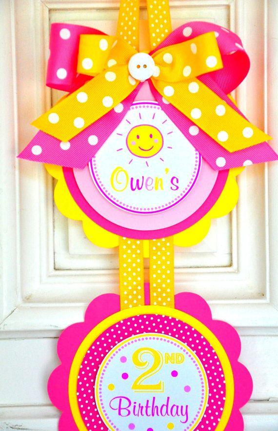 You are my Sunshine Vertical Door Hanger, Sunshine Door Sign on Etsy, $14.00