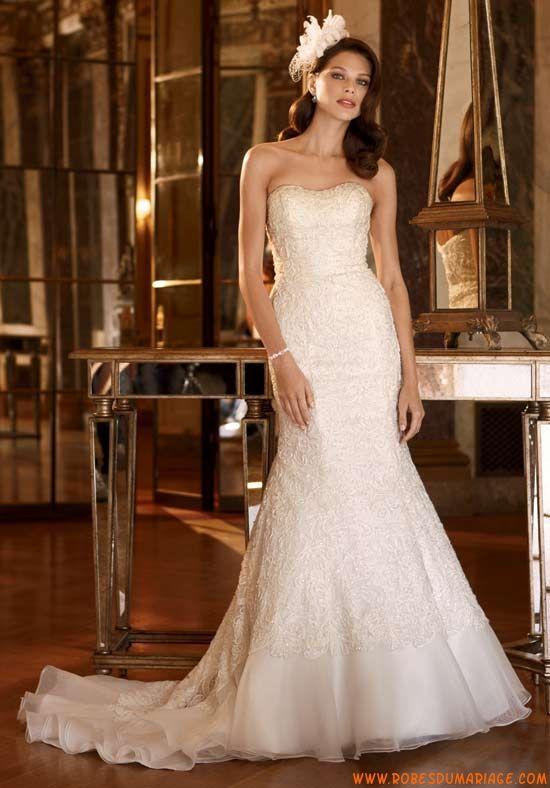 David's de Mariée Robe de Mariée Style Galina Signature SWG400