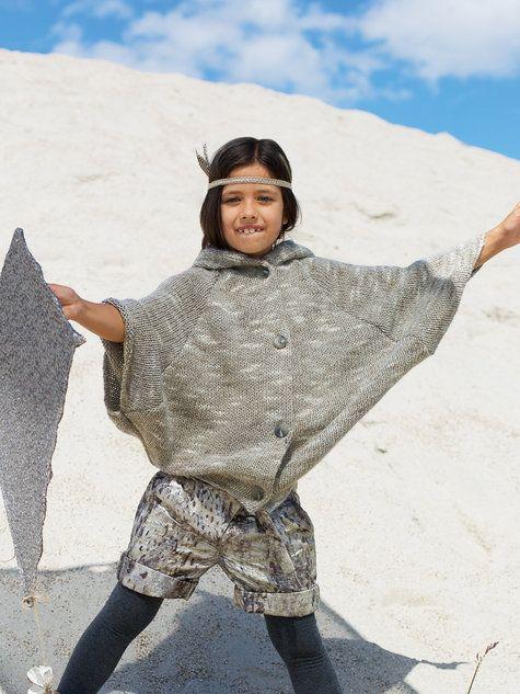 Girl's Knit Poncho 11/2012