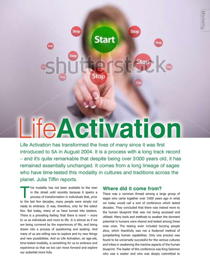 More about The Life Activation